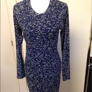 CeCe ruched front dress